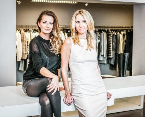 Agata Gold und Christiane Seitz